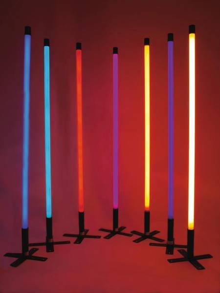 EUROLITE Neon stick T8 36W 134cm yellow L, NEON LYS