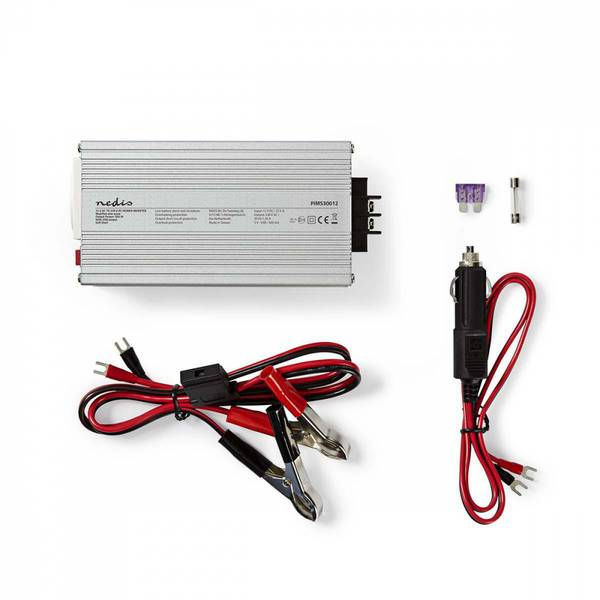 Omformer 12V DC til 230V AC 300W